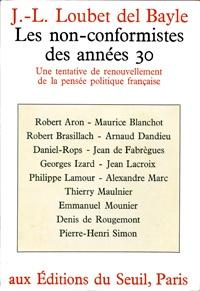 années 30,non conformistes des années 30,france,histoire,politique,révolution conservatrice,théorie politique,politologie,sciences politiques,philosophie politique