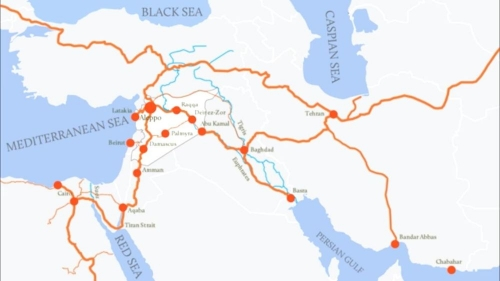 routes de la soie,liban,levant,beyrouth,proche-orient,géopolitique,politique internationale