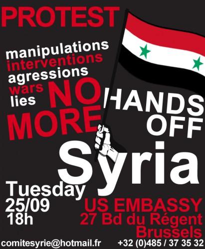 politique internationale,syrie,manifestation,événement,bruxelles,actualité