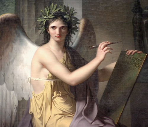 Clio, Muse of History 1798 by Charles Meynier.png