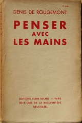 ROUGEMONT_1936_Penser_avec_les_mains_cover_first_edition.jpg