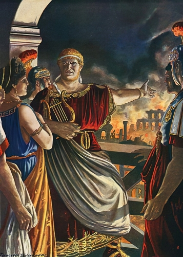 Tancredi Scarpelli - Nero watching Rome burn - (MeisterDrucke-41875).jpg