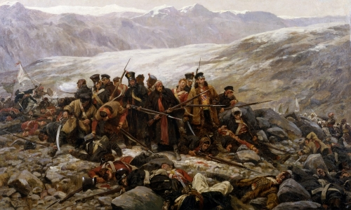 The_Last_Stand,_by_William_Barnes_Wollen_(1898).jpg